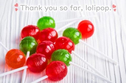 ロリポップに感謝♪